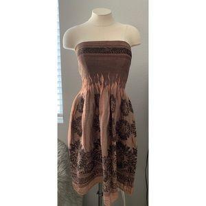 Bronze Tube Dress / Skirt